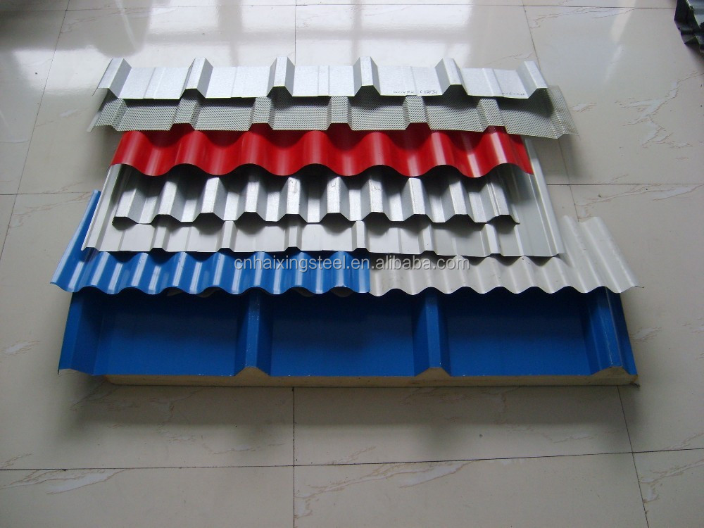 Building Material Metal Roofing Panel Iron Steel Sheet