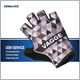 Small Size Padded Pro-team Knit Half Short Finger Cycling Glove