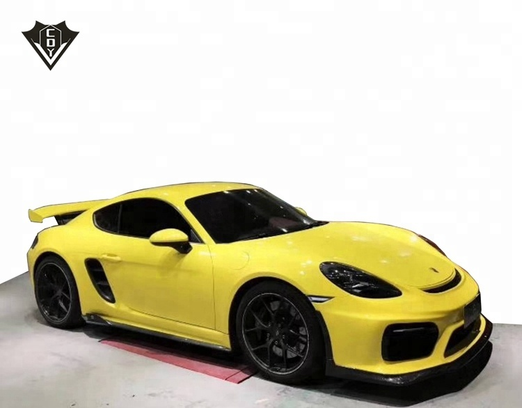 Voor Porsche 718 cayman GT4 stijl auto bumpers boxster 718 body kits