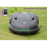 Newest Updated WIFI APP SmartPhone Control Robot Lawn Mower S510 with Ultrasonic Sensor, Subarea Setting ,Range Function