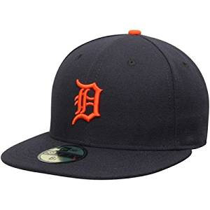 check out 3b6f4 8d771 Get Quotations · New Era Detroit Tigers MLB Authentic Collection 59FIFTY On  Field Cap NewEra