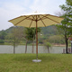 Hot selling outdoor dia 3m straight pole beer wooden patio garden umbrella