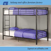 Student Dormitory Metal Bunk Bed With Desk and Wardrobe