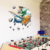 3D Self-adhesive Removable Break Through the Wall Vinyl Sticker/Mural Art Decals Decorator/PVC Home Decor