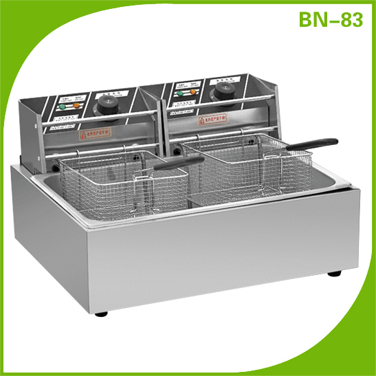 CosBao high quality stainless steel chicken deep fryer machine for sale BN-83