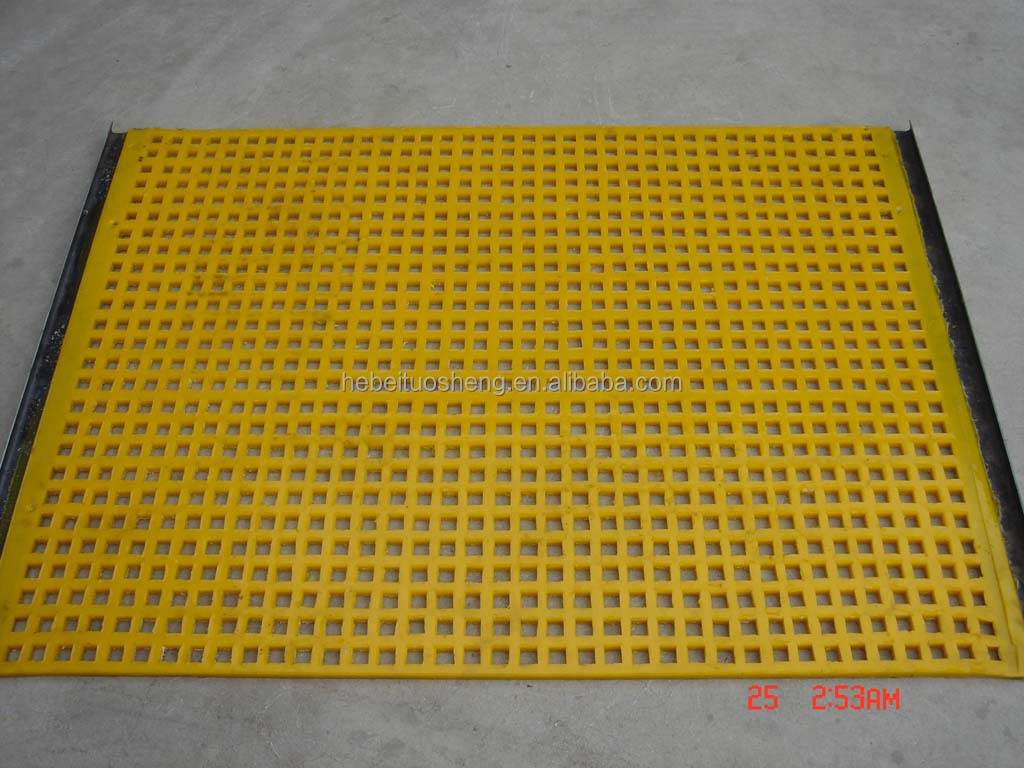PU screen mesh for ore mining equipment