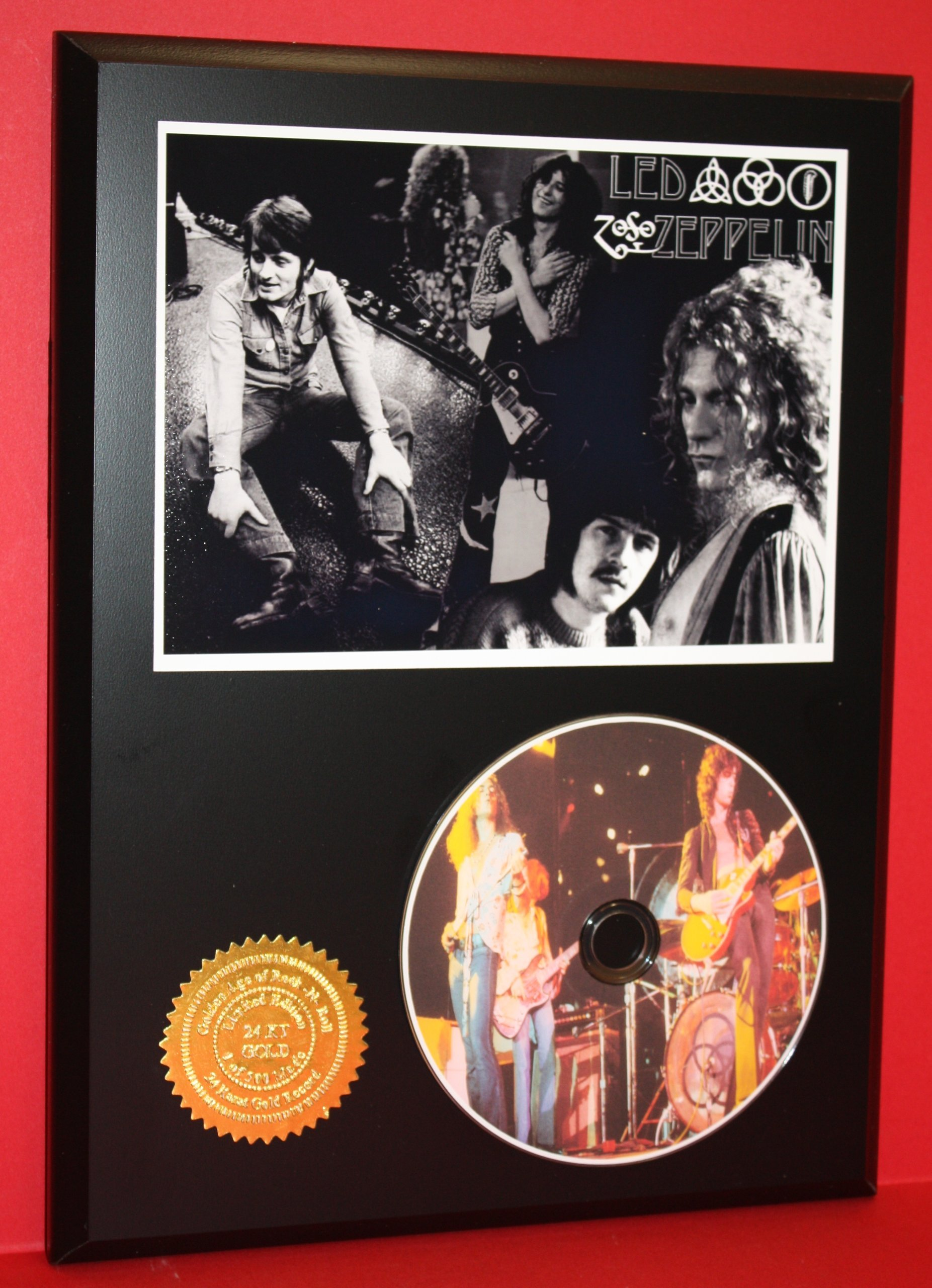 Led Zeppelin Limited Edition Picture Disc CD Rare Collectible Music Display