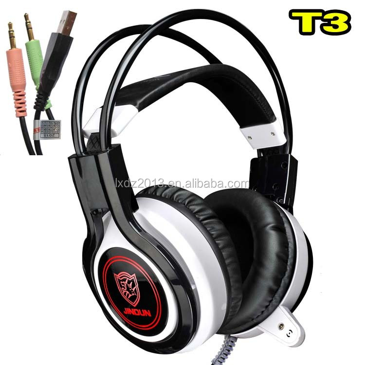 JD T3 New Model Cheap products Light vibrations superman headphone