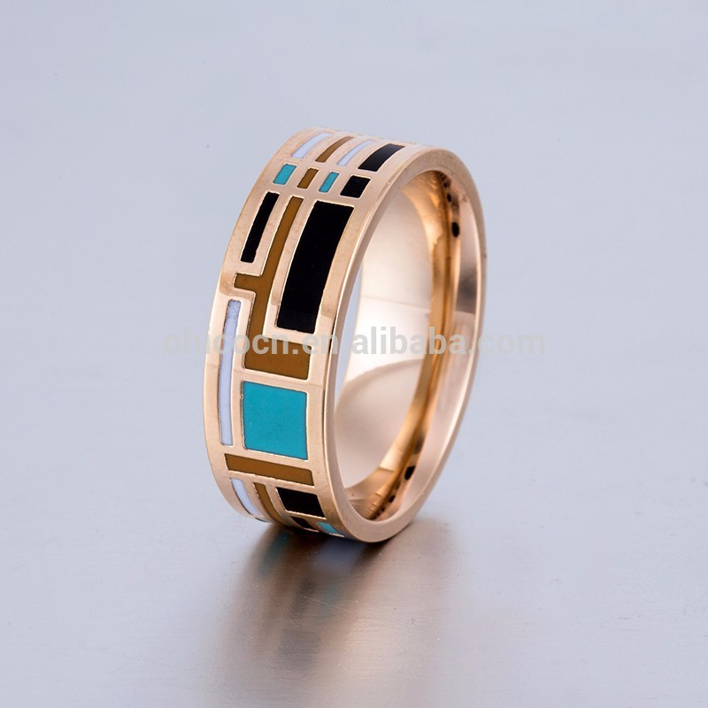 high density gold wedding rings for men With Good After-sale Service