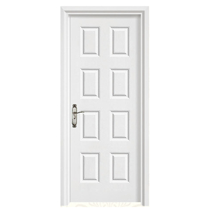 Factory Wholesale Price 8 Panels Composite Interior Wood Doors Designs