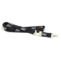 Custom bottle opener lanyard sublimation printed