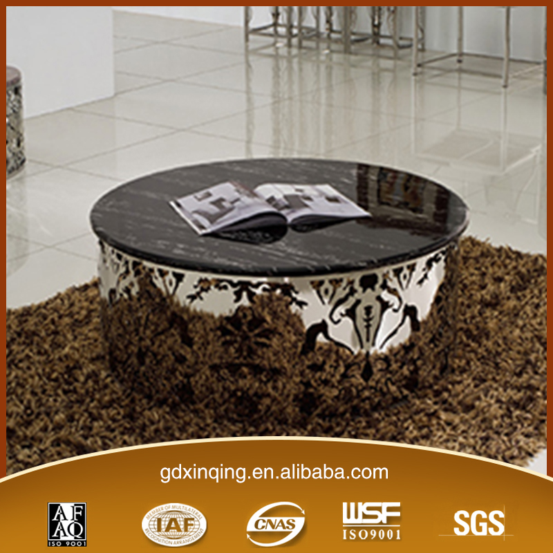 C189 modern design marble coffee table for sale round coffee table for sale
