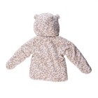 Wholesale custom cartoon animal warm thick faux fur new born winter baby clothes