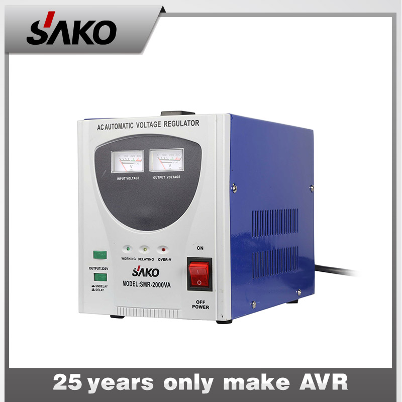 Automatic voltage regulator and stabilizer