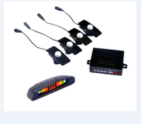 Car Parking Sensor System Distance Control Sensor With Led Display System with Flat Original Car Sensors 13mm only