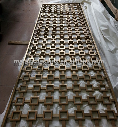 garden decorative wall curtain aluminum wall panels partitions