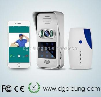 Smart Home 720P TCP/IP WiFi Video Doorbell Support Wireless Door Phone  Unlock IOS Android