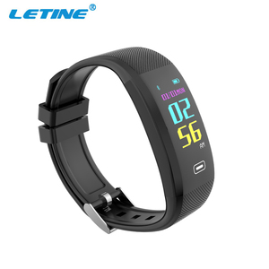 Top selling new smart custom silicone wristband OEM fitness tracker bracelet with Color screentouch