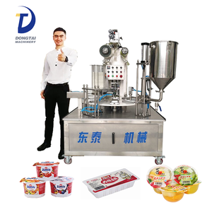 Automatic Rotary Nespresso K Cup Coffee Capsules Filling Sealing Machine/small cup sealing machine
