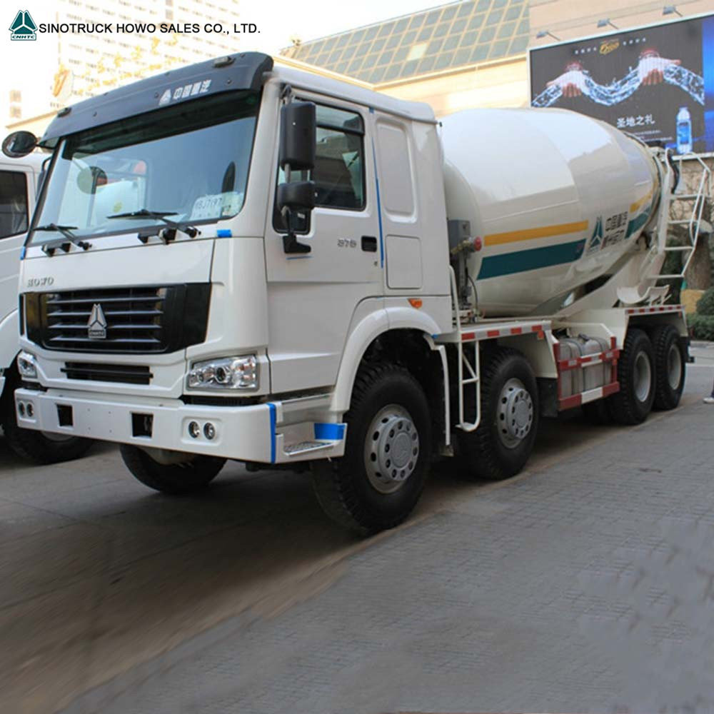 SINOTRUK HOWO 8m3/9m3/10m3/12m3 336hp Concrete Mixer Truck low price for sale