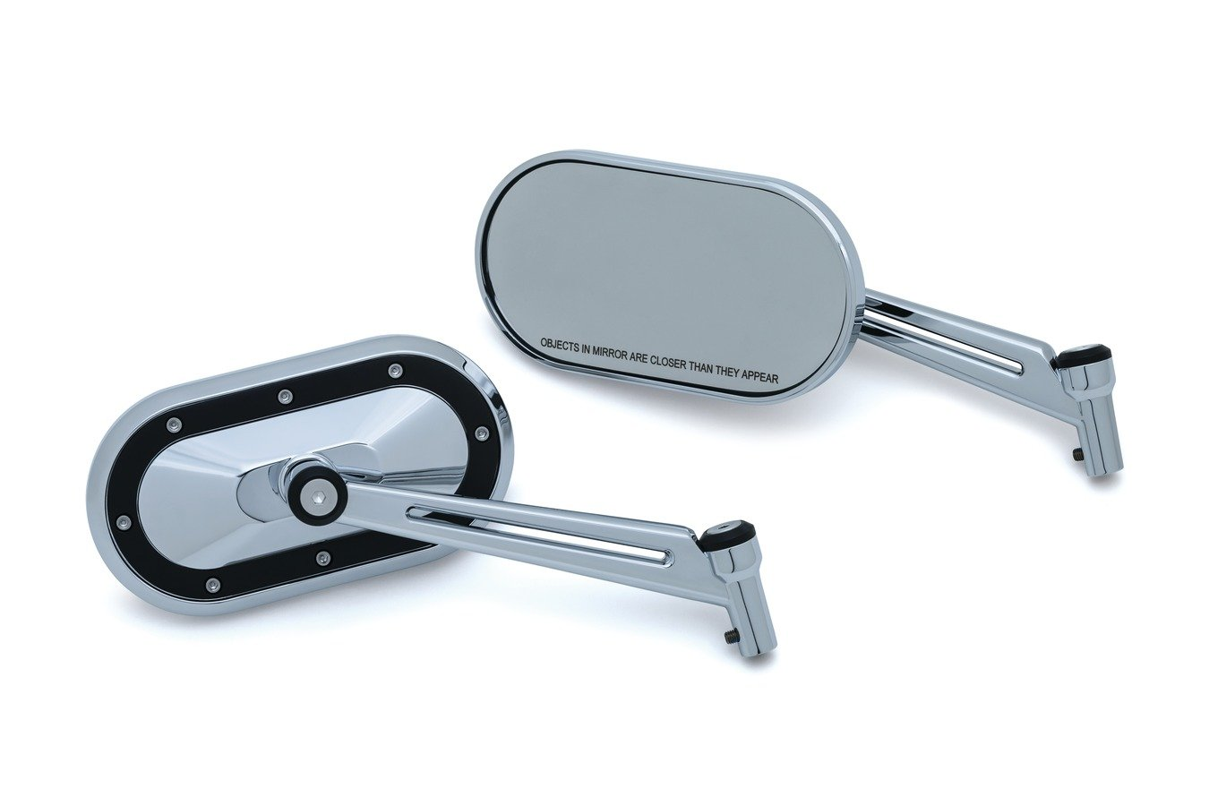 Heavy Industry Mirrors (Chrome & Black Satin)