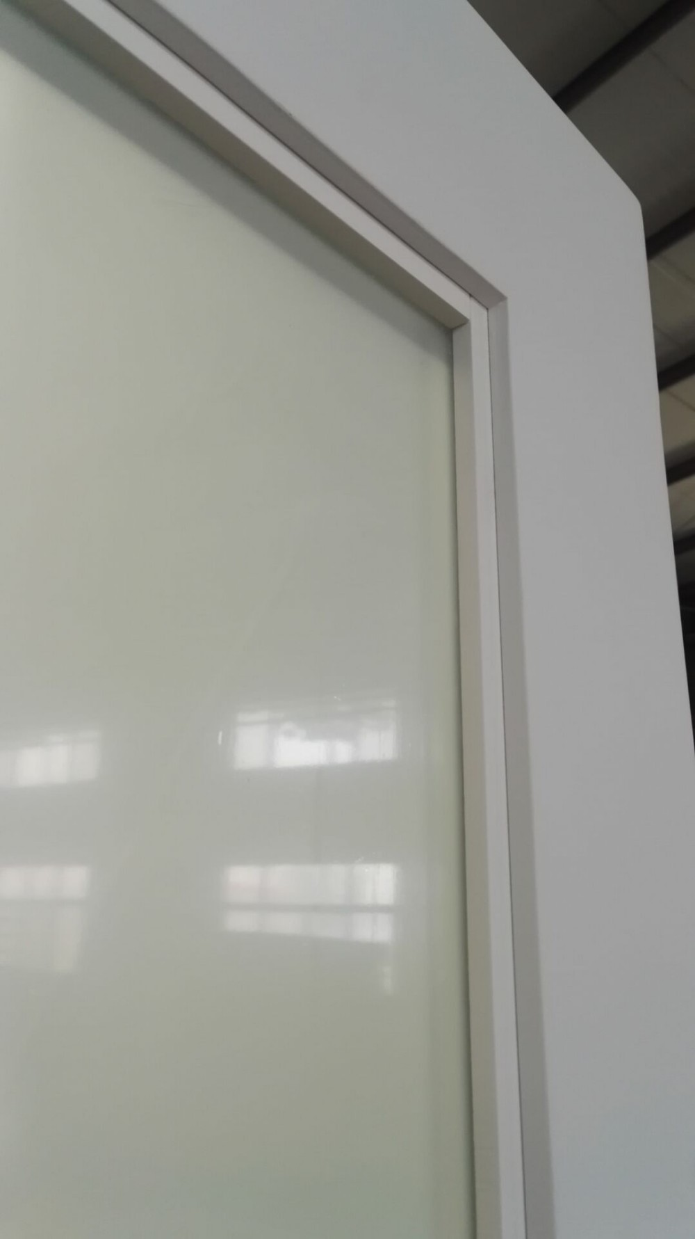 Hotel frosted glass sliding barn door buy hotel door for Barn doors over sliding glass doors
