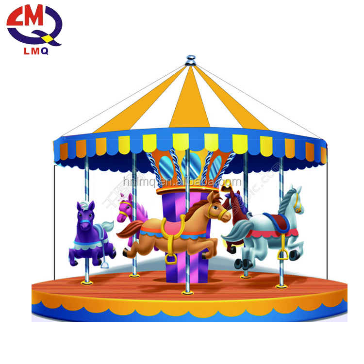 amusement park rides musical carousel, park item used carousel for sale