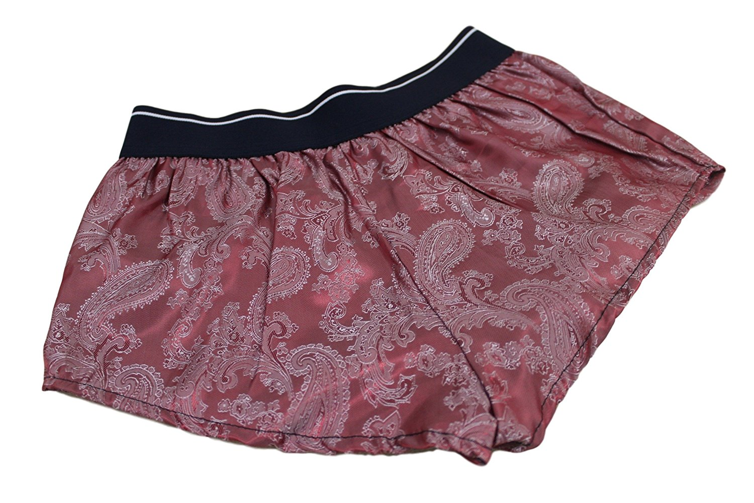 bc46b85e132 Get Quotations · woman s silk paisley luxury classic shorts french knickers  Made in France