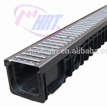 PLASTIC U SHAPE DRAIN OUTER DOOR TRENCH CHANNEL DRAINAGE CHANNEL/GUTTER