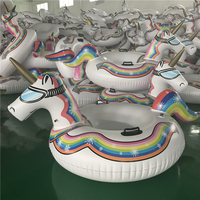 High quality Cold-resistant PVC inflatable unicorn winter snow tube The Ultimate Sled & Toboggan
