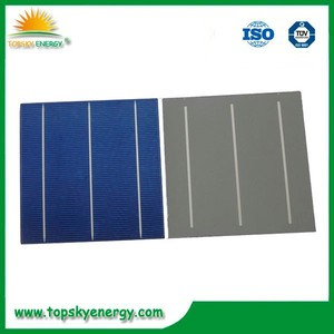 16.6%-117.0% USD$0.5/PC 156 x 156mm polycrystalline solar cells A grade/B grade made in Taiwan
