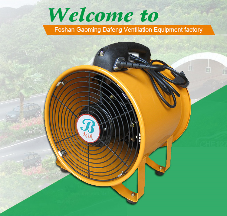 Electric Portable Exhaust Er Fan 12 220v 50 60hz With Uk Plug