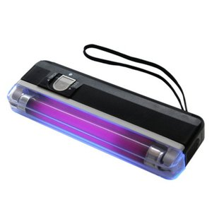 Portable Pocket 365nm UV LED Blacklight Paper Money Currency Banknote Detector with Torch
