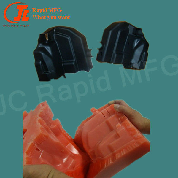 PP prototypes silicone mold vacuum casting