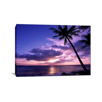 710 Koleksi lukisan pemandangan pantai simple Terbaru