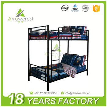 Metal Bunk Bed Frame College Dorm Loft Beds With Cheap Price - Buy ...