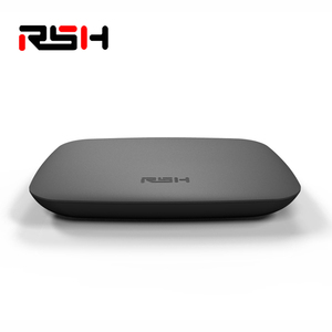 1 Year warranty Plastics Shell Material mart android6.0 tv set top box