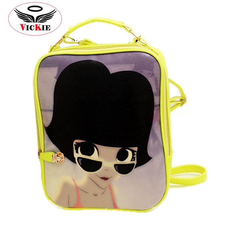 1ef51fd48edc Buy Cartoon Leather Backpack Women Designer Luggage Mochila Feminina  College Cute Printing Backpacks Brand Cartoon Leather Backpack in Cheap  Price on ...
