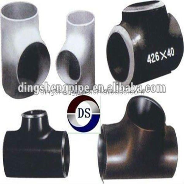 structural application carbon steel equal tee/pipe fitting