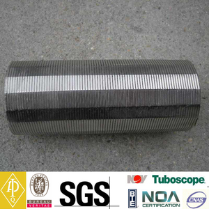 OD 273mm Wedge Wire Screen Pipe For Drilling Well (Length up to 12m)