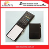PU Leather Notebook With Calculator