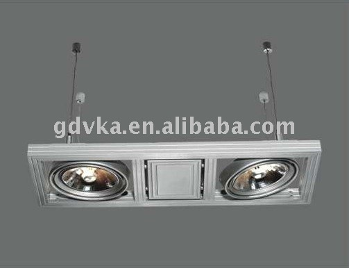 double heads super quality ceiling lilght italy design hanging light