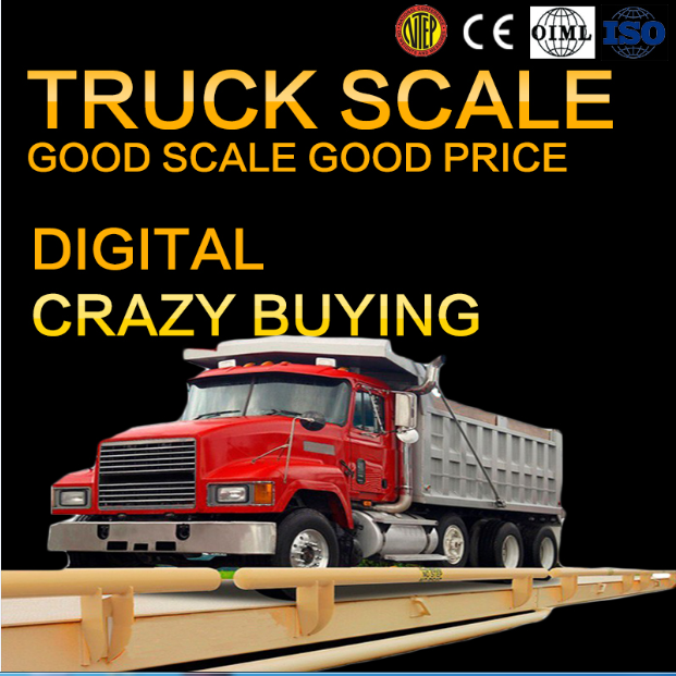 3m*12m 80t ground truck weighbridge electronic scale price