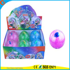 Hot Sell Kids'Gift LED Rubber 100mm Flashing Fish Water Bouncy Ball