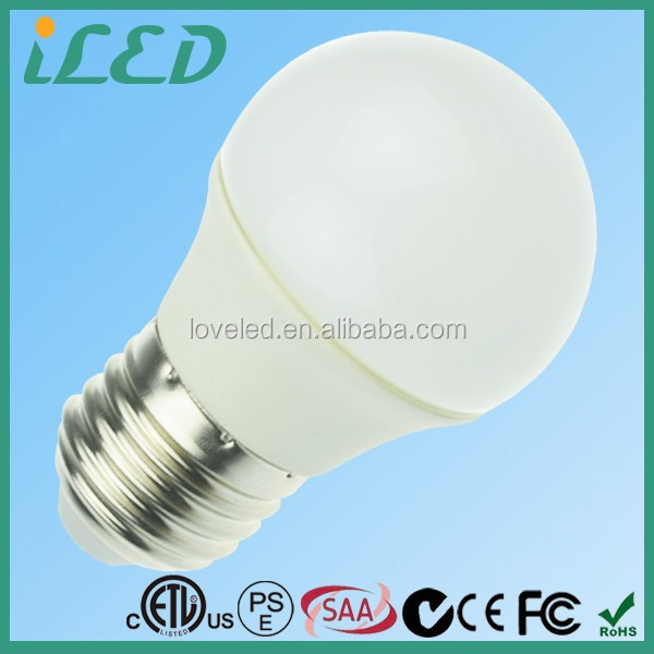 Brightest 30 Watt Incandescent Bulbs Equivalent 320lm 3Watt Led Candle Light E27 3000 Kelvin