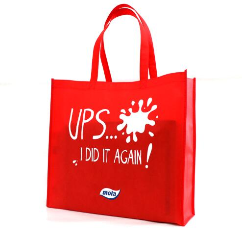 Customized Logo Printed Cheap Price Non Woven Bag For <strong>Promotion</strong>
