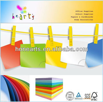 Computer printing copy paper/color printer paper/ color woodfree paper copy paper