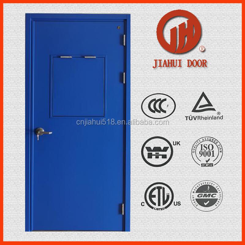 Blast Proof Steel Fireproof Door With Push Bar - Buy Blast Proof Steel  Doors,Steel Fireproof Door With Push Bar,Emergency Exit Door With Push Bar