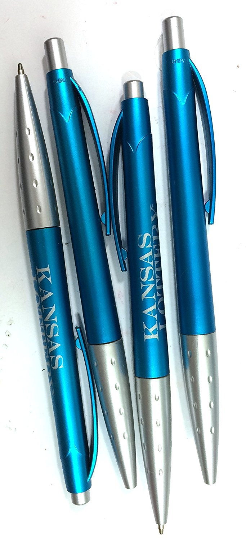 50 BiC Graphic 55720 Flav Light Blue Metallic Promotional Pens - Smoke - Black See Description