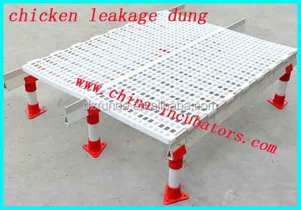 Corrosion resistant PP poultry leak dung floor